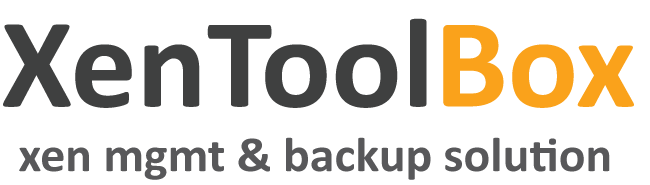 XenToolBox – Enterprise Ready XenServer Backup Solution